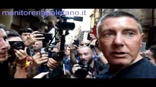 Napoli - Evento DolceGabbana - Domanda a Stefano Gabbana