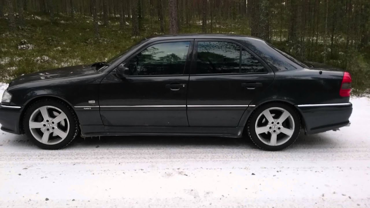 Mercedes benz c36 amg 1995 youtube for Mercedes benz 1995