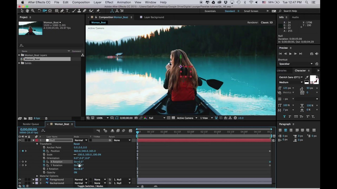 Animating your 2d photoshop layers in after effects youtube animating your 2d photoshop layers in after effects ccuart Choice Image