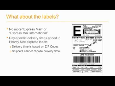 USPS Express Mail Changes 2013