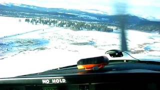 Landing at the Truckee Tahoe Airport
