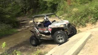 Polaris RZR S 1000 Trail Ride Action from Brimstone