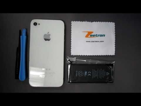 IPhone 4 Battery Repalcement Instructions Directions Zeetron