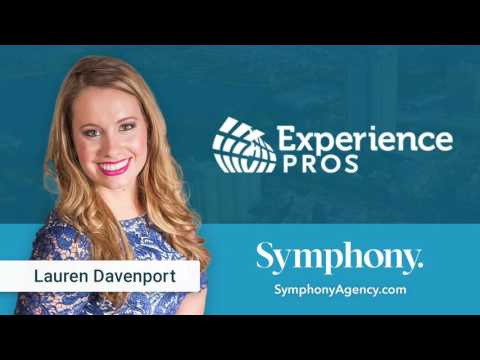 Experience Pros Radio Show with Guest Lauren Davenport, CEO of Symphony Agency