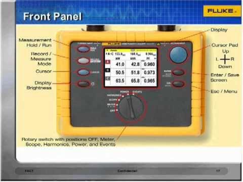 Fluke 1735 three-phase power quality logger   measurementasia co. ,ltd.