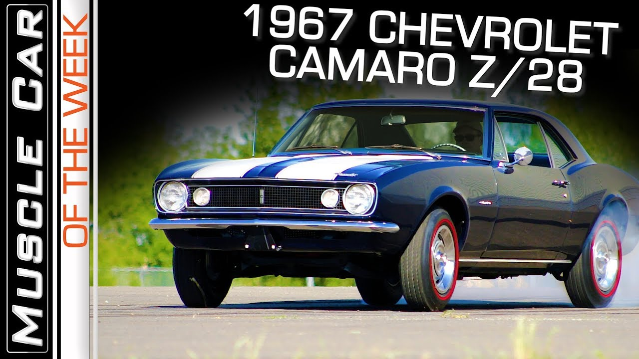 1967 Chevrolet Camaro Z 28 Muscle Car Of The Week Episode 274 Youtube