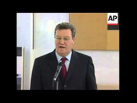 Australian FM meets Italian counterpart, comments on Iraq