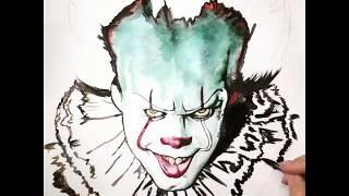 Клоун из фильма «Оно»