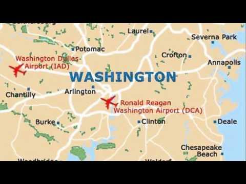 washington dc airports - YouTube