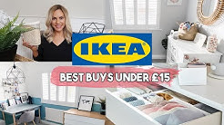 BEST IKEA PRODUCTS UNDER £15 | IKEA HOUSEHOLD MUST HAVES DECOR AND ORGANISATION
