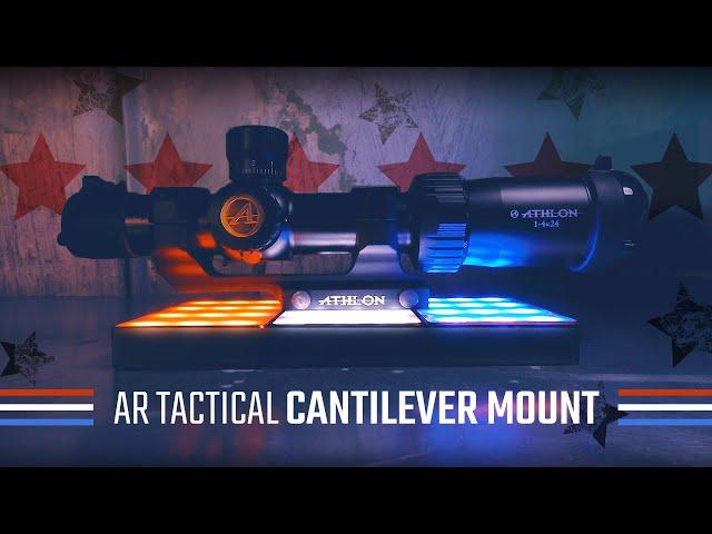 Athlon AR Tactical Cantilever Picatinny Mounts