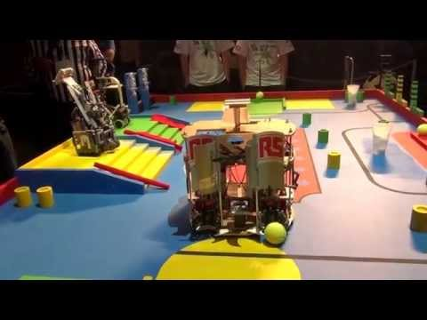 2015 - PM-ROBOTIX (32) vs A.R.D (44) - Coupe de France Robotique 2015