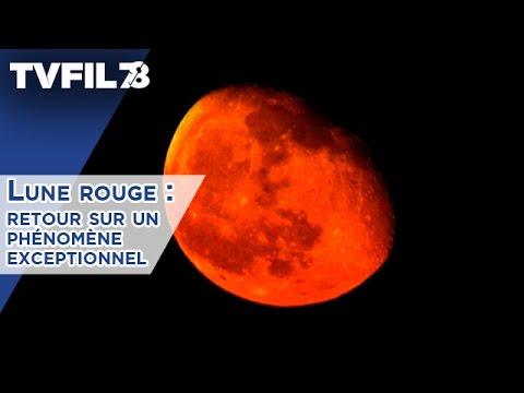 Lune rouge : retour sur un phénomène exceptionnel
