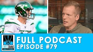 Darnold's bomb, Baker's INT, Diggs roasts, Ramsey trade | Chris Simms Unbuttoned (Ep. 79 FULL)