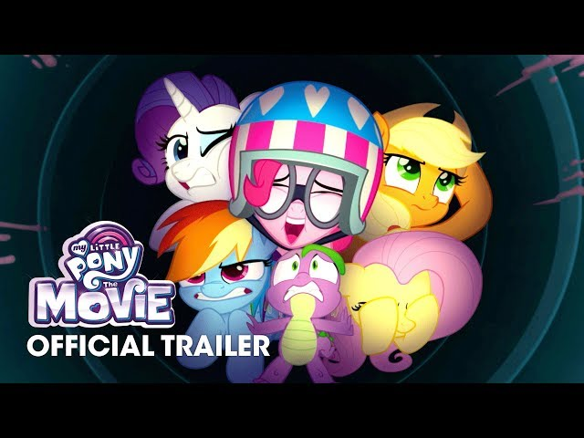 "My Little Pony: The Movie (2017) Official Trailer ""Pony Party"" - Emily Blunt, Sia, Zoe Saldana"