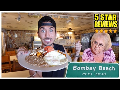 Eating At The BEST Reviewed Restaurant In The LOWEST Populated Town.... (5 STARS) thumbnail