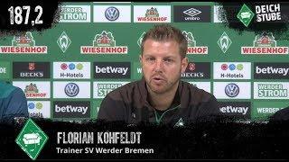 Vor VfL Wolfsburg: Highlights der Werder-Pressekonferenz in 189,9 Sekunden