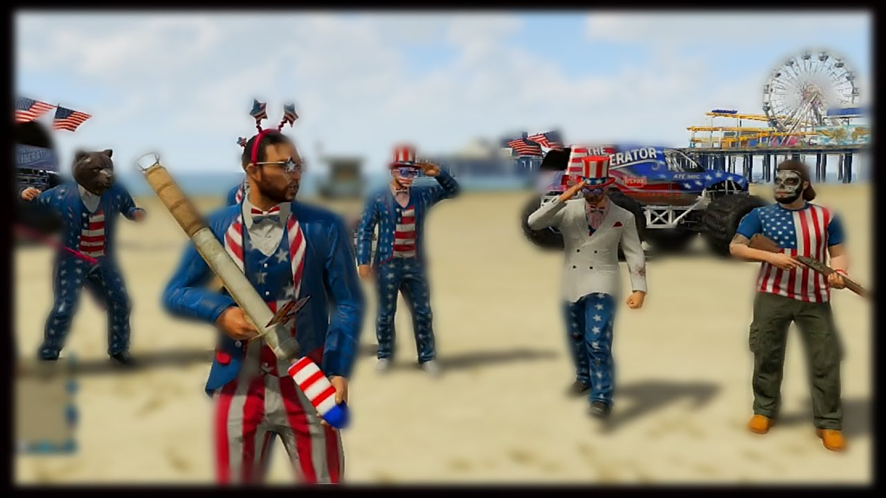 how to get fireworks in gta 5 online 2016