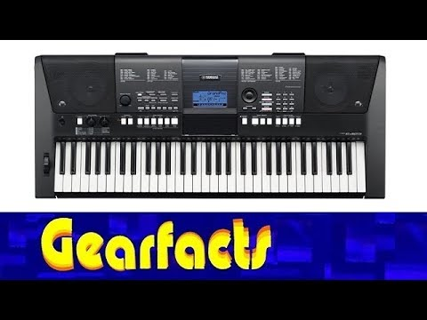 yamaha psr e423 keyboard direct recorded demo and tour. Black Bedroom Furniture Sets. Home Design Ideas
