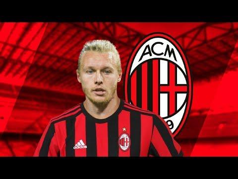 Simon Kjaer Welcome To Ac Milan Goals Defensive