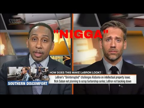 Stephen A. Smith Says The N-WORD NIGGA on ESPN First Take 2018!