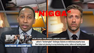 Stephen A. Smith Says The N-WORD