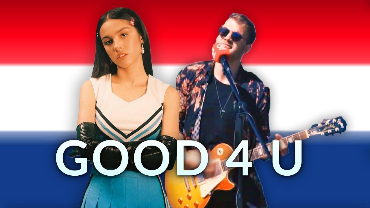 Wat als GOOD 4 U van OLIVIA RODRIGO in het Nederlands was? | BENR COVER