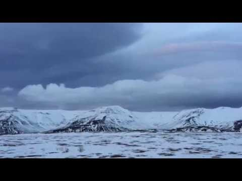 Iceland Road Conditions - Strong Wind