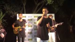 Måns Zelmerlöw Heroes and Golden Boy Live in Israel Ikea Event