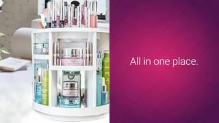 Rotating Makeup Organizer - Bellabogo
