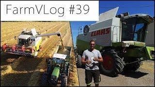 FarmVLOG#39: UNSER NEUER MÄHDRESCHER Erntevorschau CLAAS LEXION