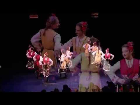 """The Rose Valley"" - performance  with GORANA DANCE, Gorana Jr. dance ensembles   and Yasna Voices"