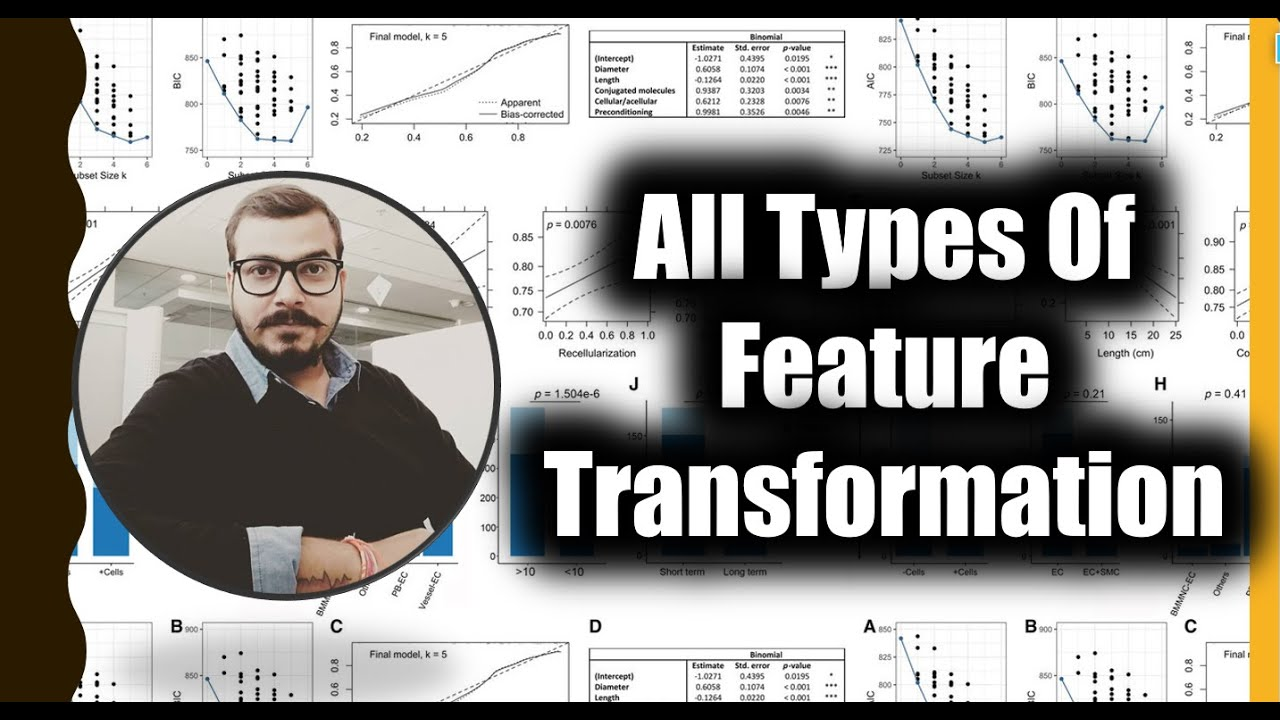 Discussing All The Types Of Feature Transformation In Machine Learning