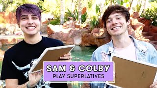 Sam & Colby Reveal Who's Spookier, Funnier, The Better Dance And More! | Superlatives | Seventeen