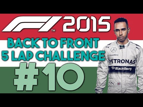 F1 2015 - Back to Front 5 Lap Challenge S2 #10