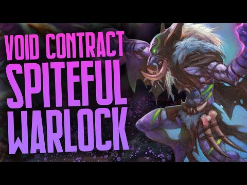 Void Contract Spiteful Warlock | Part Two | Rastakhan's Rumble | Hearthstone