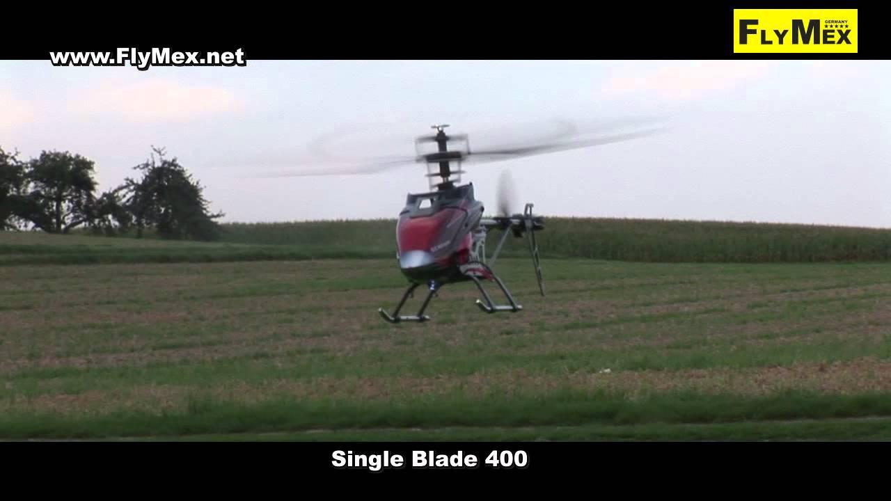 Single Blade 400 RTF RC-Helikopter für Einsteiger - YouTube