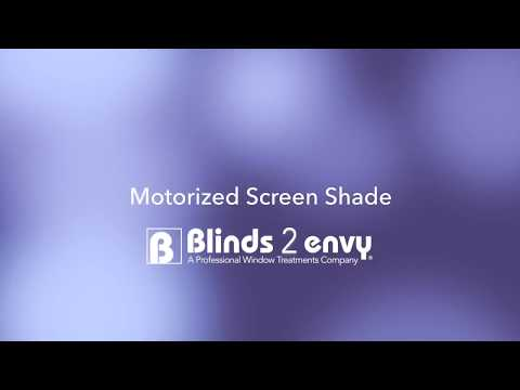 Blinds 2 Envy - Motorized Screen Shade