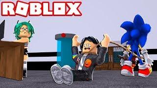 Sonic. EXE SE VULVE LOCO pt-br fugir da facilidade ROBLOX 😱