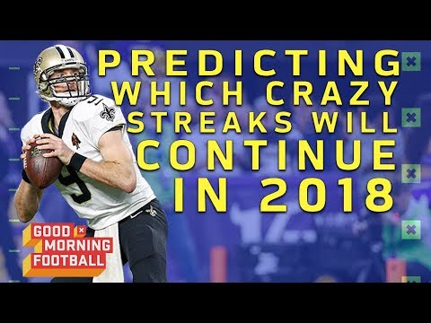 Predicting if Crazy Streaks Will End or Continue in 2018 | NFL Network