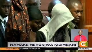 Mamake mshukiwa kizimbani