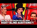 HIGH-RISK Blind Auditions on The Voice | Top 10