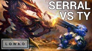 StarCraft 2: SERRAL vs TY!