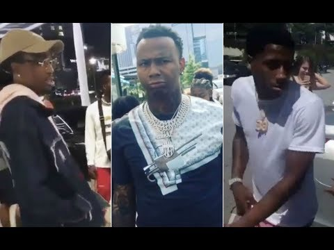 Rappers Getting Ran Up On By Unsigned Artist NBA YoungBoy Quavo MoneyBag Yo