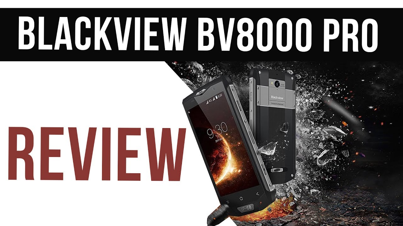 e07fbbcef9169 Blackview BV8000 Pro Review - Super Rugged Flagship Phone - YouTube