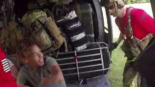 Alaska Guardsmen Conduct Rescue Operations in North Carolina