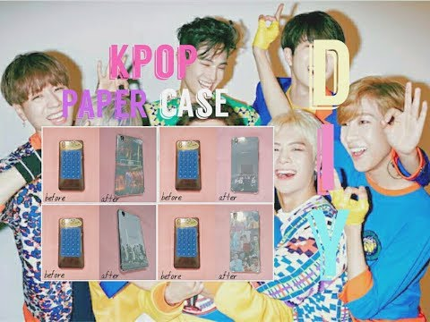 DIY KPOP Paper Case