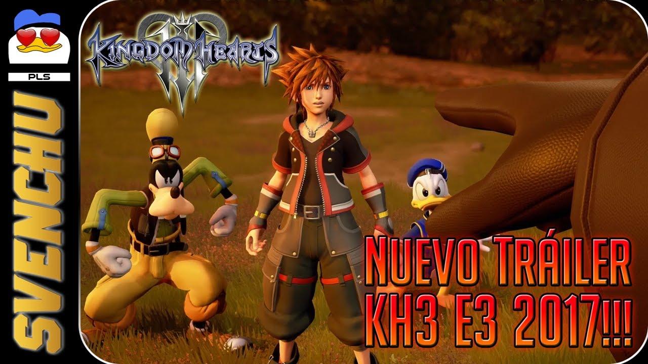 Kingdom hearts 3 trailer 60 fps webcam
