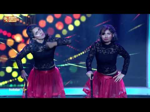 Jodi   ஜோடி - Fusion Round   Priya and Sunitha