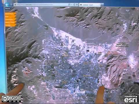 Landsat Touch for Silverlight